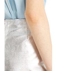 Paul & Joe - Metallic Fleurette Skirt - Lyst