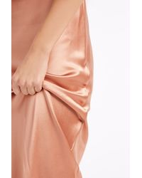 Galvan London - Pink Bias Cut Dress - Lyst