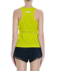 Adidas By Stella McCartney - Blue Run Tank - Lyst