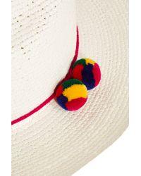 Sensi Studio - White Crochet Panama Hat - Lyst