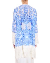 Athena Procopiou - Blue Up From The Skies Kimono - Lyst