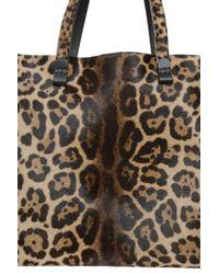 Victoria Beckham - Multicolor Leopard Shopper Tote - Lyst