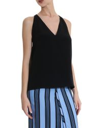 Cushnie et Ochs - Black Silk Top - Lyst