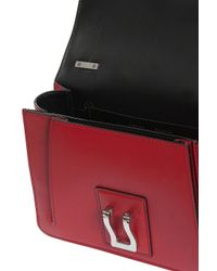 Proenza Schouler - Red Hava Small Leather Shoulder Bag - Lyst