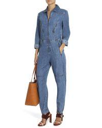 M.i.h Jeans - Blue Boiler Suit - Lyst