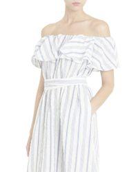 Lisa Marie Fernandez - Multicolor Off-shoulder Dress - Lyst