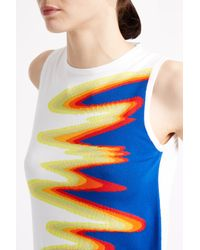 Acne Studios - Multicolor Onya Intarsia Wave Tank Top - Lyst