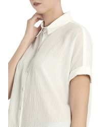Rag & Bone - White Striped Shirt - Lyst