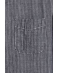Rag & Bone - Blue Beach Shirt for Men - Lyst