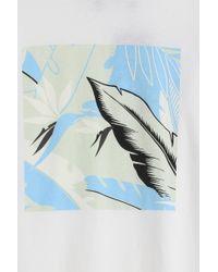 Rag & Bone - White Hawaiian T-shirt for Men - Lyst