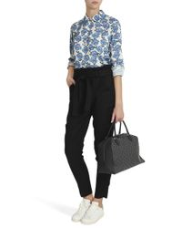 A.L.C. - Blue Lee Belted Trousers - Lyst