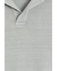 Orlebar Brown - Gray Massey Polo for Men - Lyst