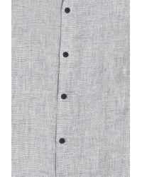 Orlebar Brown - Blue Morton Tailored Shirt for Men - Lyst