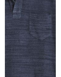 Orlebar Brown - Blue Terry Polo for Men - Lyst