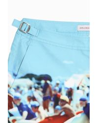 Orlebar Brown - Blue Bulldog Hulton Getty Shorts - Lyst