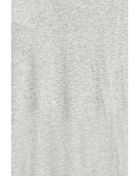 Orlebar Brown - Gray V-neck T-shirt - Lyst