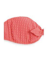 Heidi Klein - Pink Padded Bandeau Bikini Top - Lyst