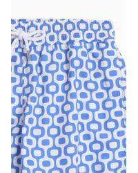 Frescobol Carioca - Blue Ipanema Sports Shorts - Lyst