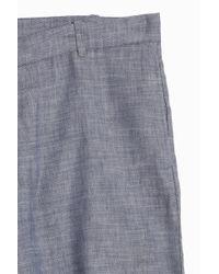 Frescobol Carioca - Blue Linen Tailored Shorts for Men - Lyst