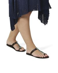 Ancient Greek Sandals - Natural Iris Stone Sandals - Lyst