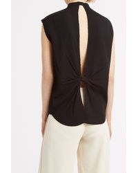 Helmut Lang - Black Knot Back Shirt - Lyst