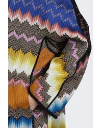 Missoni - Multicolor Zigzag Snake Coat - Lyst
