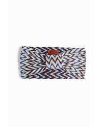 Missoni | Purple Front Knit Headband | Lyst