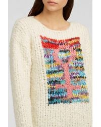 Missoni - Multicolor Intarsia Knitted Jumper - Lyst
