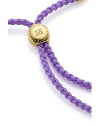Monica Vinader - Multicolor Fiji Friendship Bracelet - Lyst