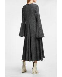 Ellery - Multicolor Conrad Metallic Ribbed Stretch-knit Dress - Lyst