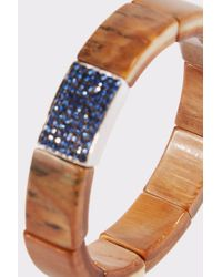 Sydney Evan - Multicolor Mammoth And Sapphire Cuff - Lyst