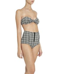 Lisa Marie Fernandez - Multicolor Poppy Plaid Bikini Set - Lyst