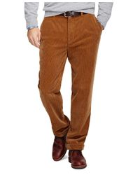 Brooks Brothers - Brown Hudson Fit Wide Wale Corduroys for Men - Lyst