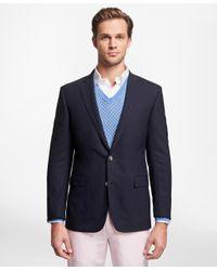 Brooks Brothers - Blue Regent Fit Brookscool® Blazer for Men - Lyst