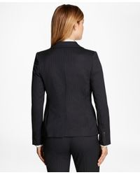 Brooks Brothers - Blue Pinstripe Stretch-wool Jacket - Lyst