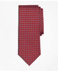 Brooks Brothers - Red Circle Link Print Tie for Men - Lyst