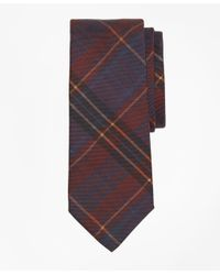 Brooks Brothers - Purple Ancient Madder Plaid Print Tie for Men - Lyst