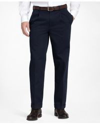 Brooks Brothers - Blue Thompson Advantage Chinos® for Men - Lyst