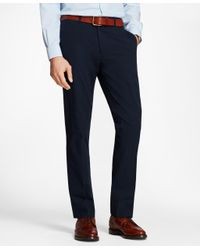 Brooks Brothers - Blue Seersucker Dress Trousers for Men - Lyst