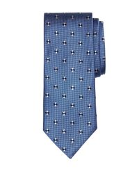 Brooks Brothers | Blue Four-dot Flower Tie for Men | Lyst