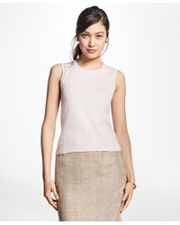 Brooks Brothers - Pink Lightweight Supima® Cotton Shell - Lyst
