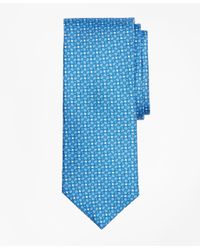 Brooks Brothers | Blue Horseshoe Motif Print Tie for Men | Lyst