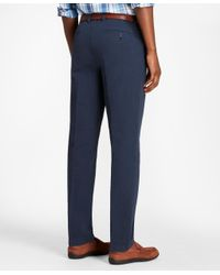 Brooks Brothers - Blue Milano Fit Seersucker Pants for Men - Lyst