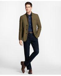 Brooks Brothers - Green Hybrid Jacket for Men - Lyst