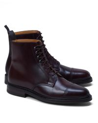 Brooks Brothers | Purple Peal & Co.® Cordovan Boots for Men | Lyst