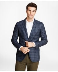 Brooks Brothers - Blue Milano Fit Check With Deco Sport Coat for Men - Lyst