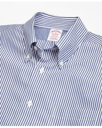 Brooks Brothers - Blue Non-iron Madison Fit Bengal Stripe Sport Shirt for Men - Lyst