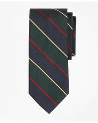 Brooks Brothers | Green Argyle Sutherland Rep Slim Tie for Men | Lyst
