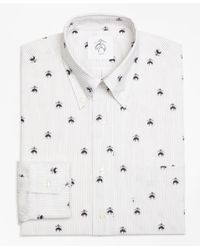 Brooks Brothers | Black Fleece Embroidered Button-down Shirt for Men | Lyst