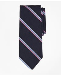 Brooks Brothers | Blue Mogador Triple Stripe Tie for Men | Lyst